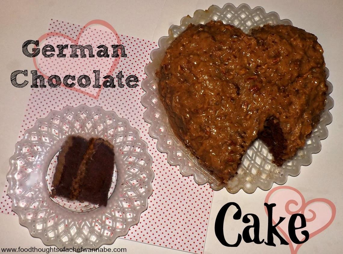 FoodThoughtsOfaChefWannabe: German Chocolate Cake