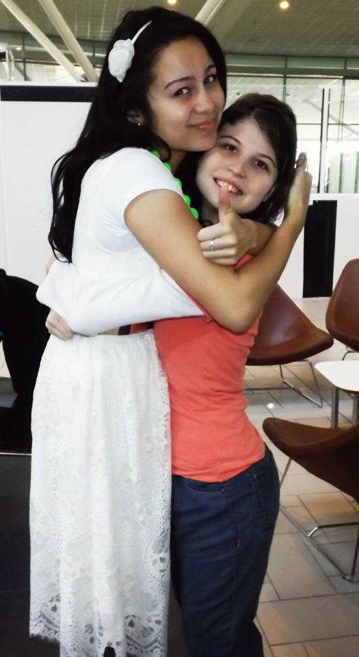 Me and Sister M Dixon
