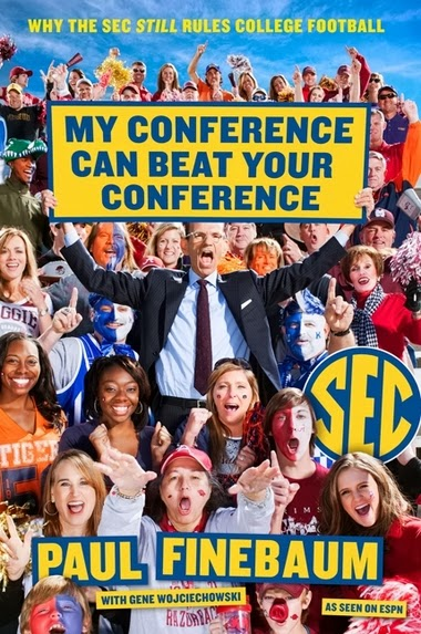 The cover to Paul Finebaum's new book is as garish as you thought it would be.