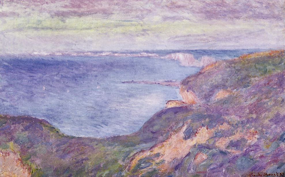 Falaise près de Dieppe (1897)