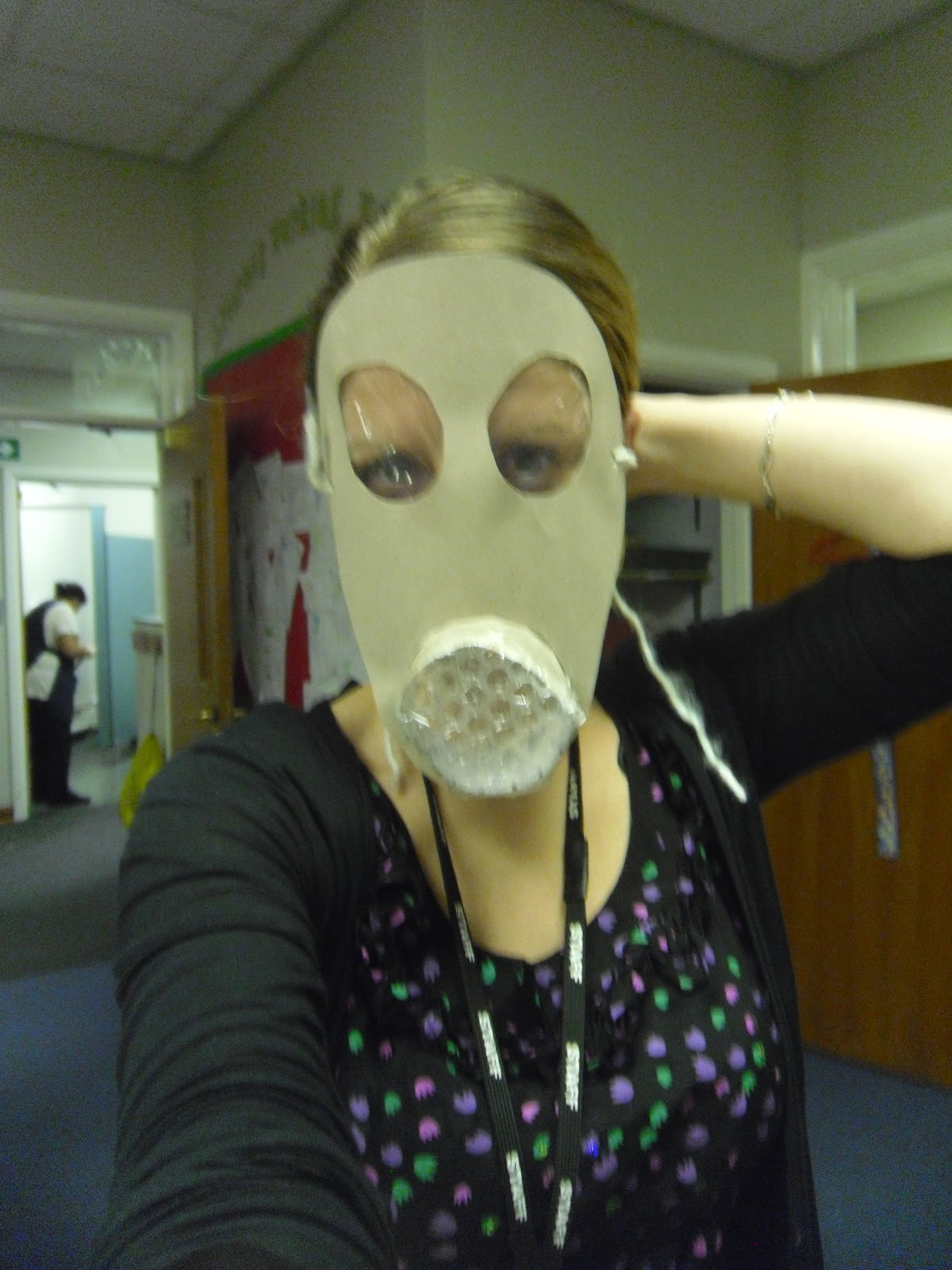 Watch How to Make a Gas Mask video