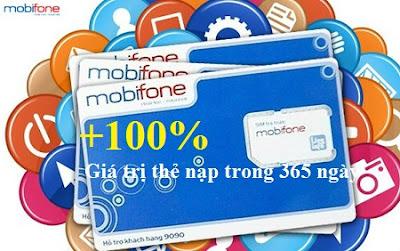 Khuyến mãi 100% trong 365 ngày khi hòa mạng mới M360 Mobifone