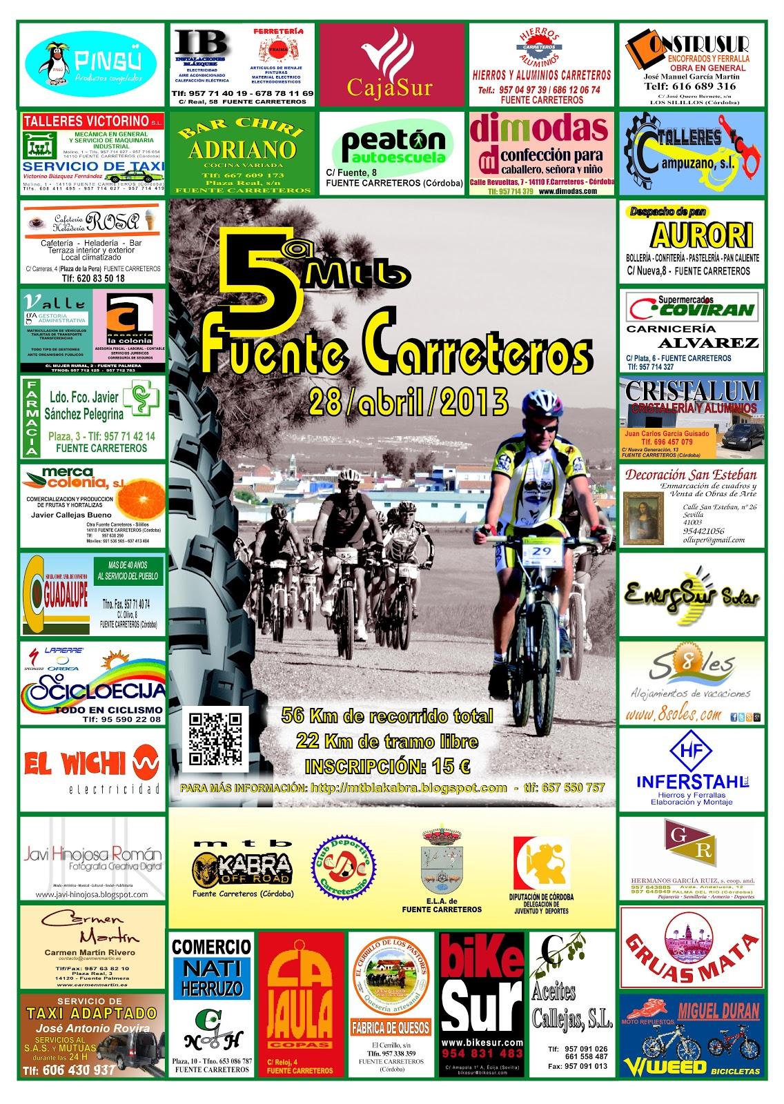 5ª Mtb Fuentecarreteros 28 Abril 2013 00+CARTEL+FINAL