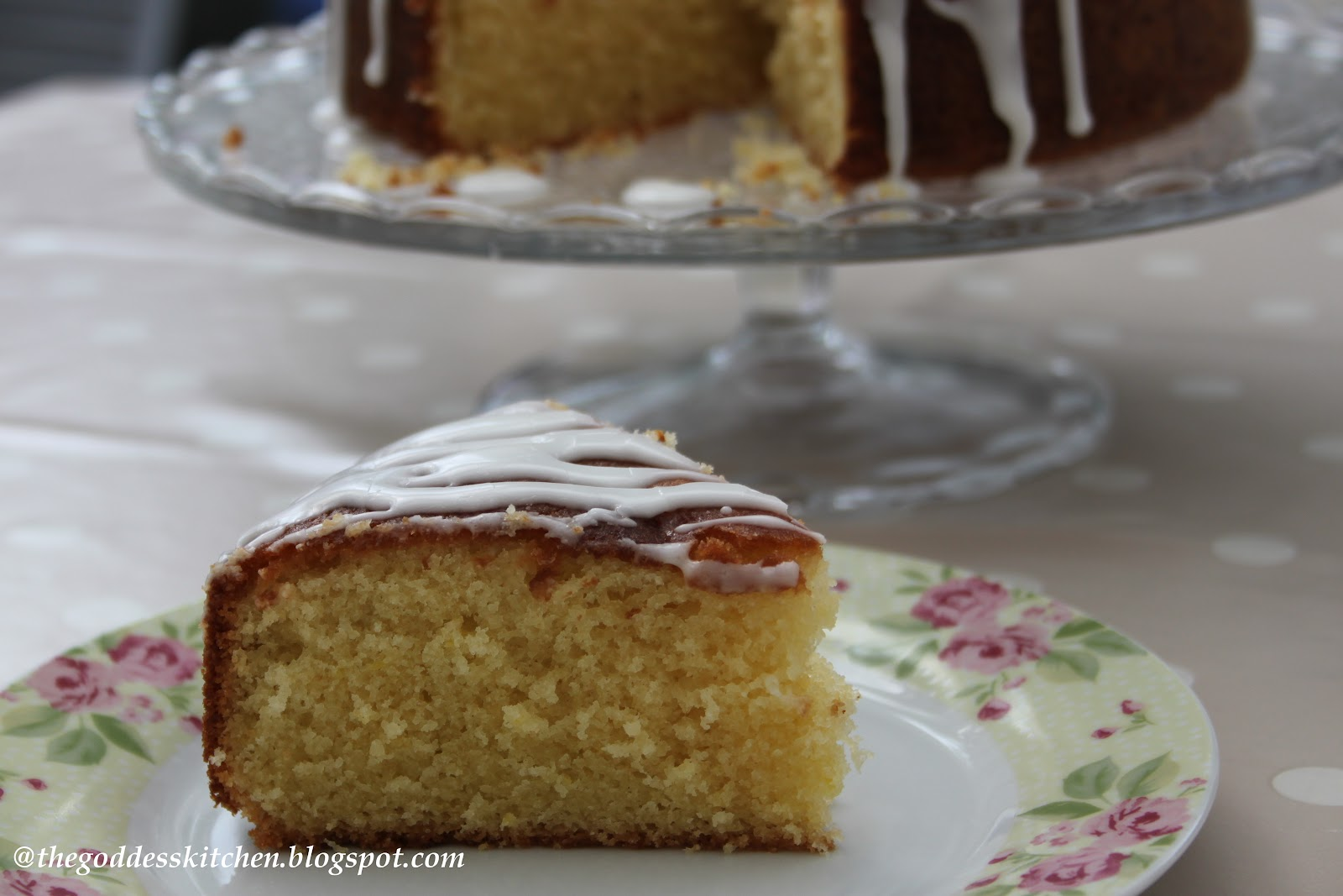 Lemon Drizzle Cake Recipe Round Tin