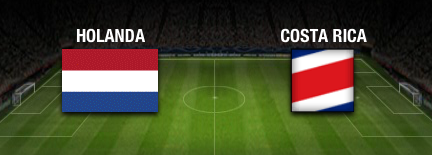 resultado final Holanda vs Costa Rica cuartos de final