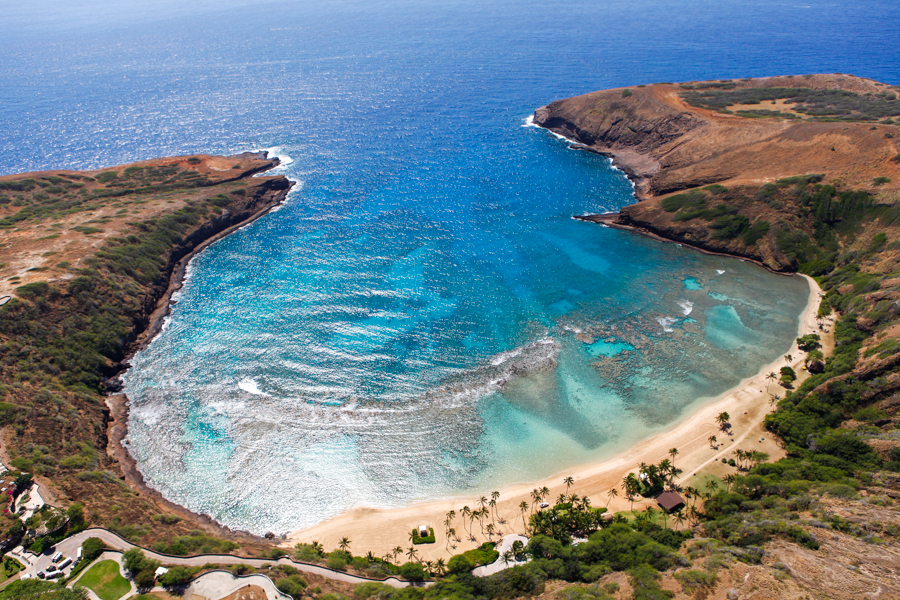 Levitate Style Travel: Oahu, Hawaii Open Door Helicopter Tour | Genesis Helicopters, Hanauma Bay