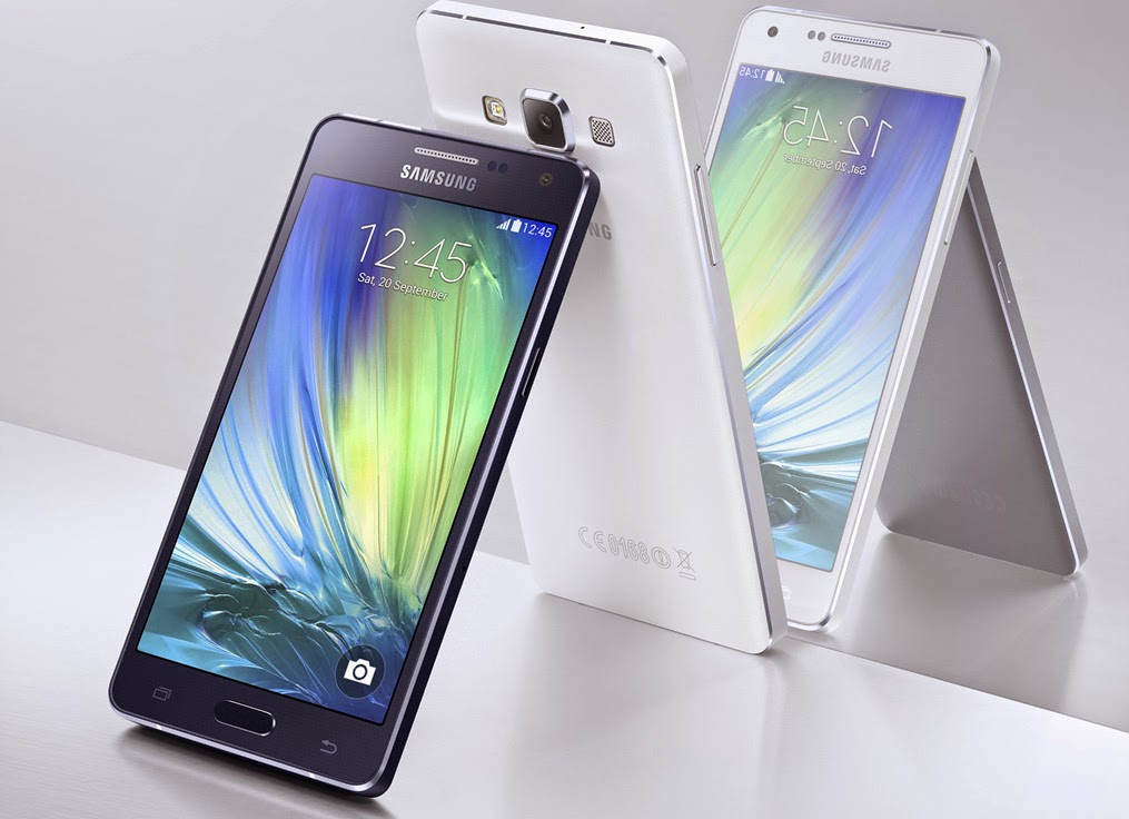 According To Leaks The Galaxy A7 Is A 55 Inch Smartphone Packing Full HD 1080p Display While A3 And A5 Had Quite Mid Range Specs