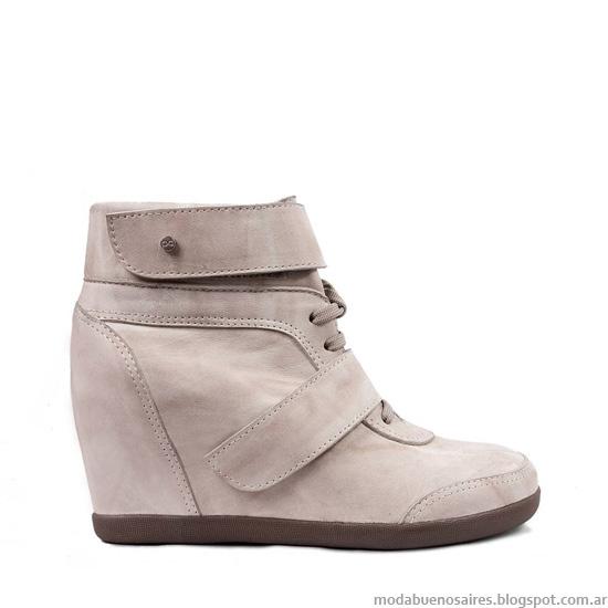 Zapatillas con taco botas invierno 2013 blaque