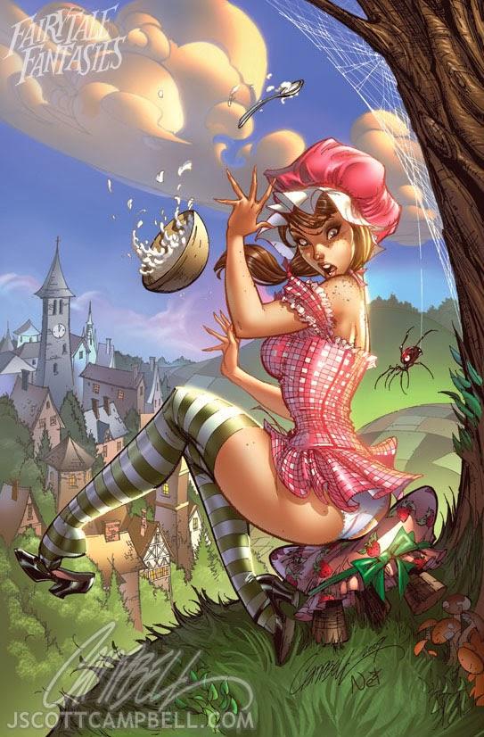 little miss muffet Fairytale Fantasies Disney