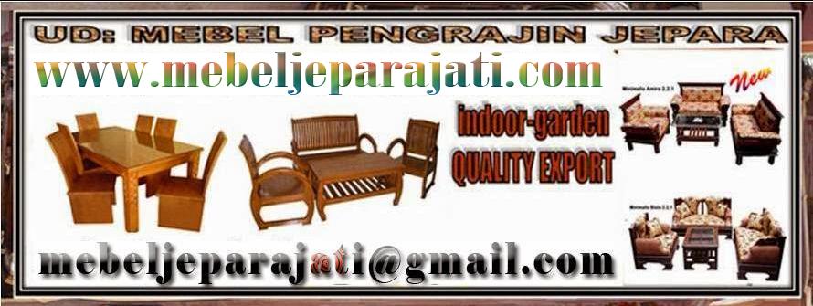 PENGRAJIN MEBEL JEPARA | Jepara Mebel | Furniture Jepara Craftsman Jati Jepara 2001