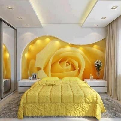 Yellow bedrooms decoration ideas - Dormitorios amarilos