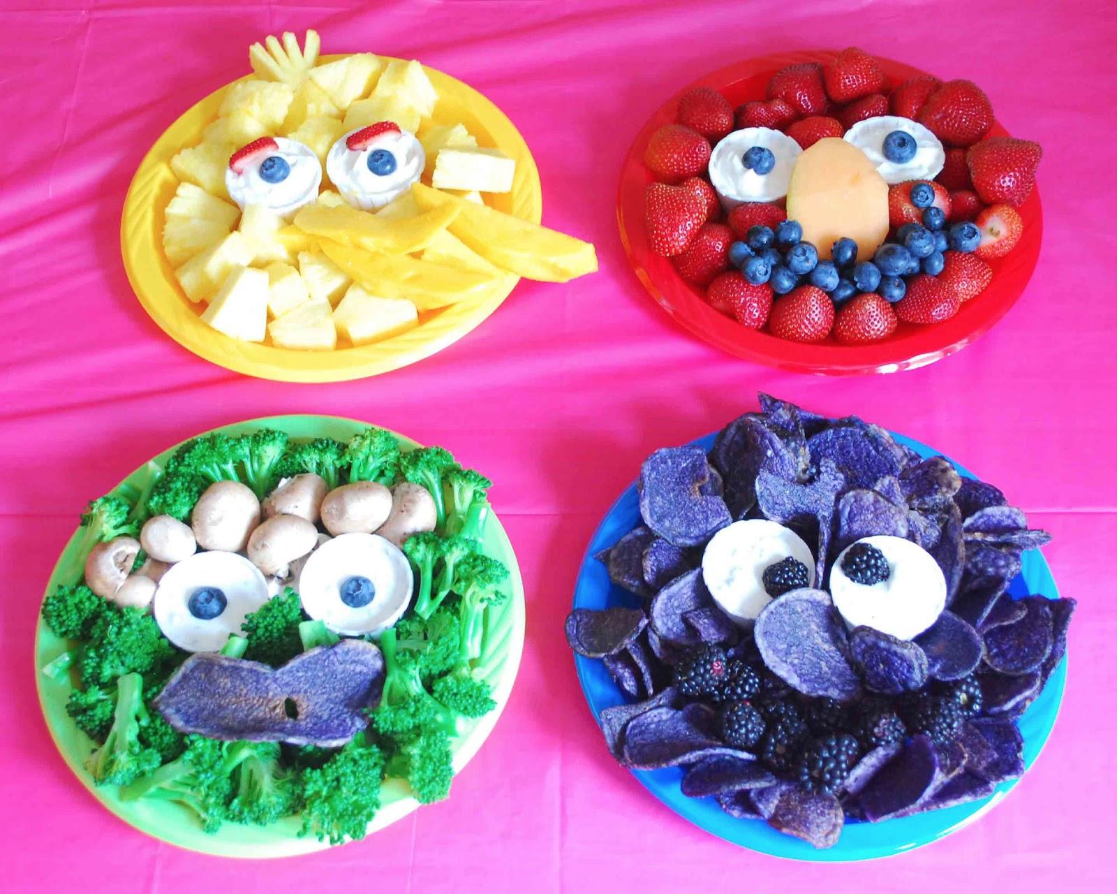 SweetThings Sesame Street Sweet Table