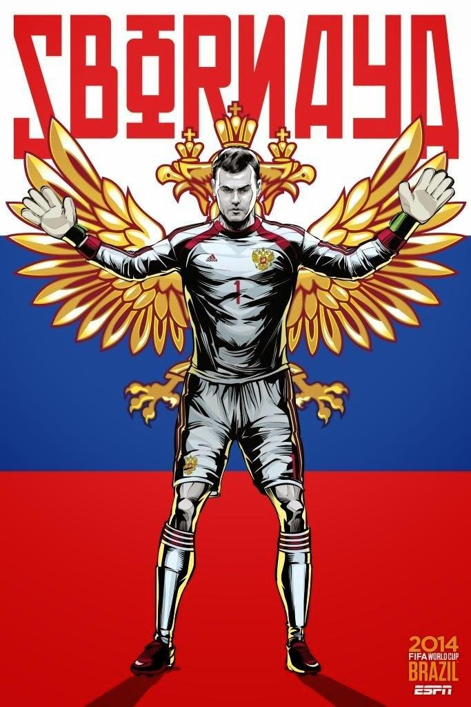 Russia Team FIFA 2014