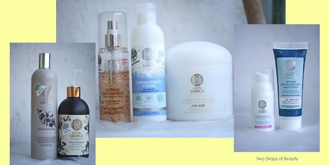 Natura Siberica, крем для тела, ночная маска, сыворотка для проблемной кожи, тоник для лица, жидкое мыло для рук, пена для ванн, спрей для волос и тела
