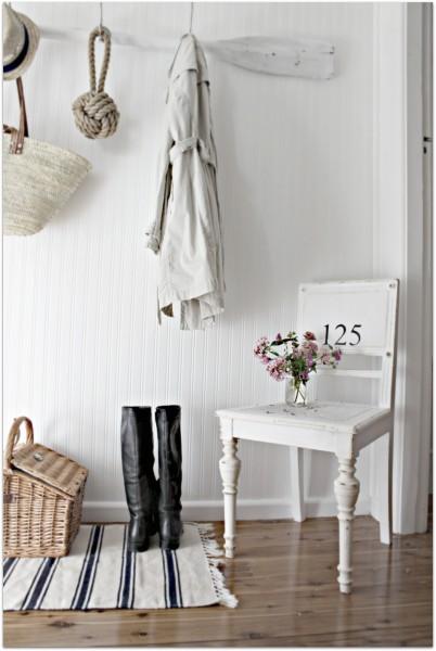 decorar casa vacaciones blanco vintage y estilo nordico