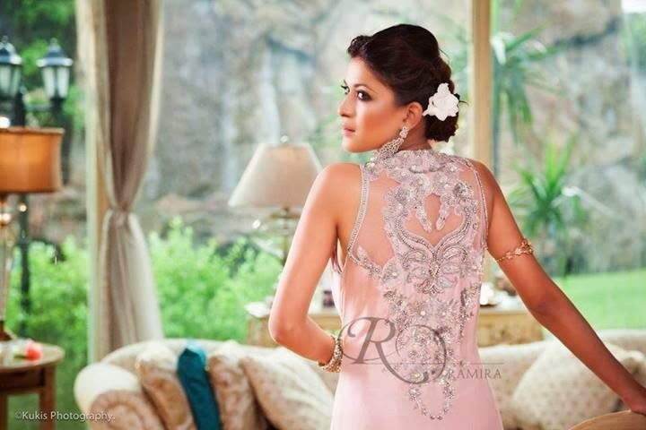 Ramira New Stylish Bridal Wear Latest Dresses Collection 2014 For Women