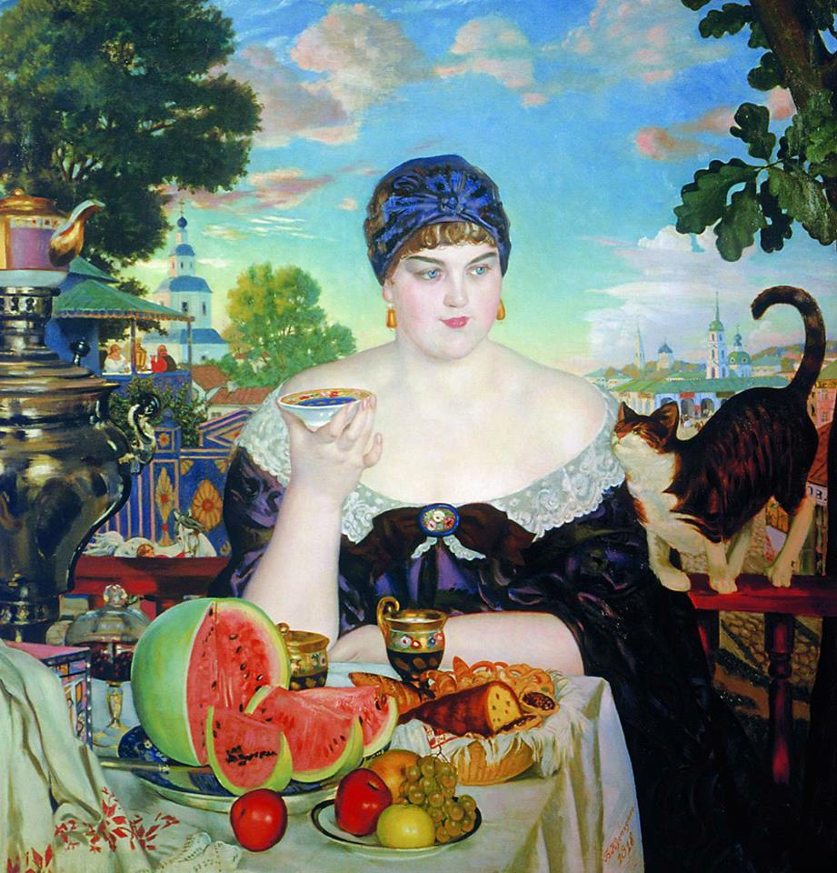 Hannah Gerber, Aspiring Tea Lady