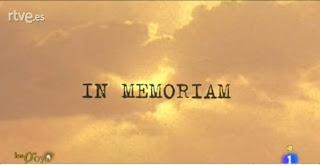 Recuerdo a los fallecidos en el año 2012