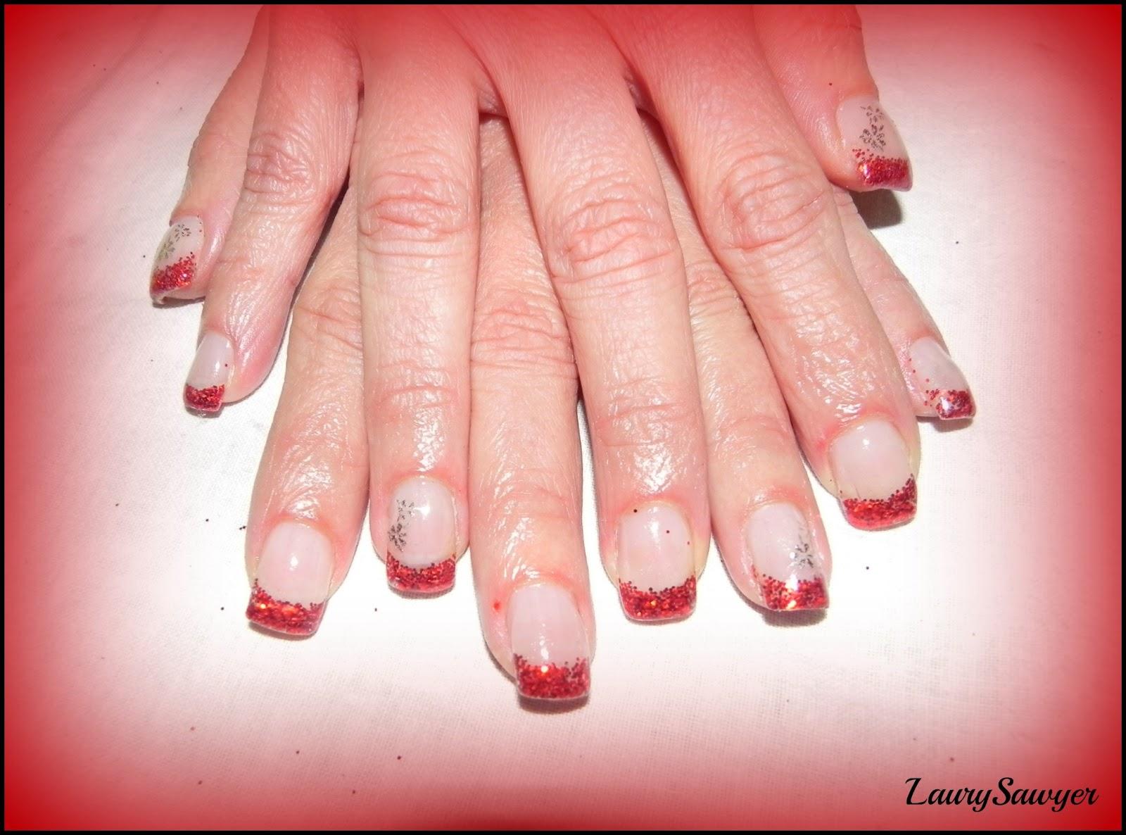 Estremamente Laura Nails : Ricostruzione unghie in parte con Cartine ! OS43