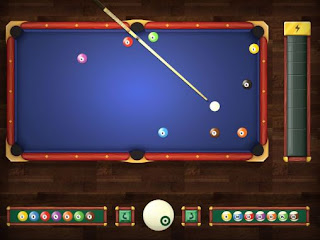 Screenshots of the Billiards for Android tablet, phone.