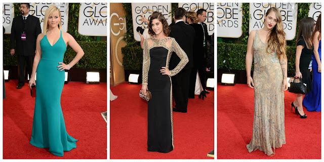 Golden Globes, dresses, Hollywood