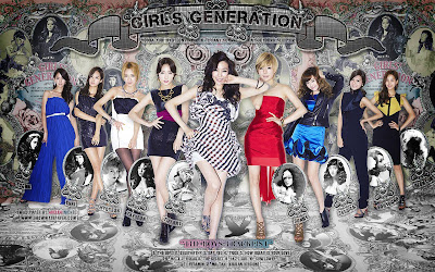 SNSD The Asian Girls Wallpapers collections