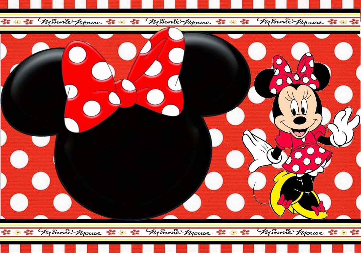 Festa Personalizada Minnie Vermelha