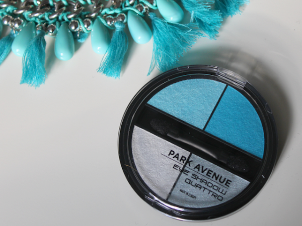 Park Avenue Eye Shadow Quattro 12 Turquoise.