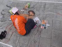 Ketti Grossi aus Italien, für das Streetart Festival 2013 in WHV