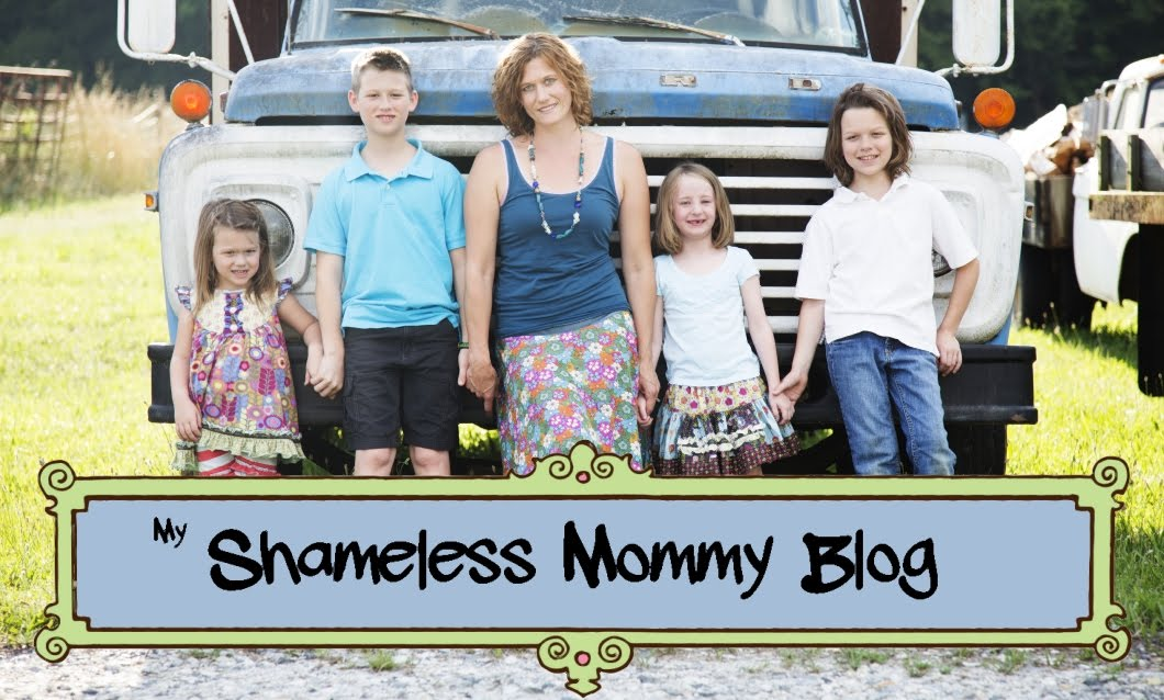My Shameless Mommy Blog