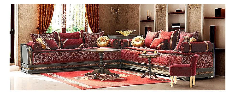 Salons du maroc et d coration orientale salon marocain for Salon du maroc