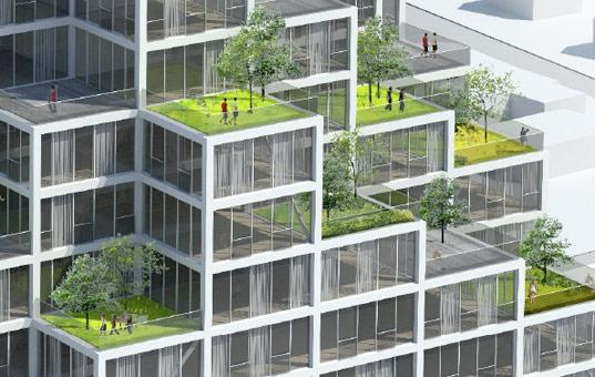 the pragmatist modular apartment buildings