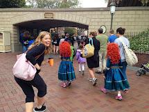 Crazy People at Disneyland