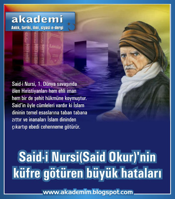 said-i nursi, said nursi, said okur, saidi nursi