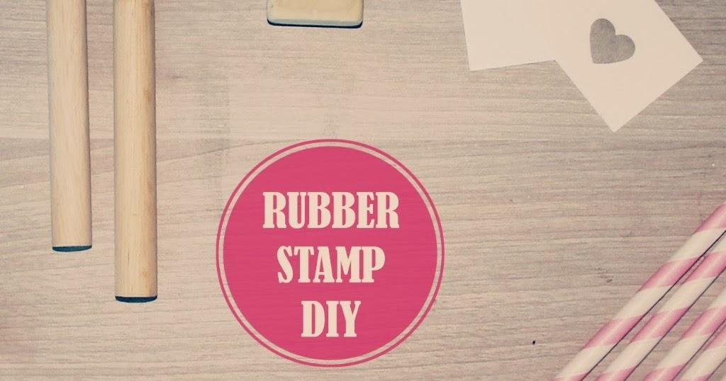 DIY: cómo carvar un sello en una goma de borrar