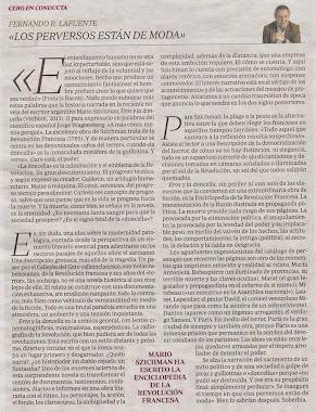 """""""Los perversos están de moda"""" en la editorial del Suplemento cultural de ABC"""