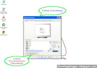 how to restore default desktop icons