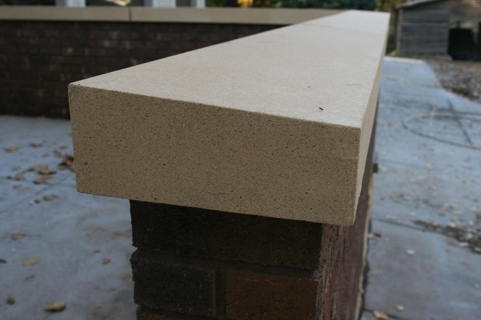 Cement Wall Caps : Our adventures in nottafarm forest concrete caps add