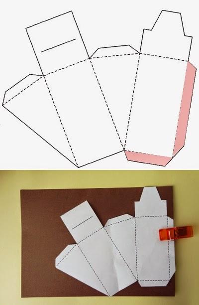 Haz una caja de regalo en forma de pastel ~ Solountip.com
