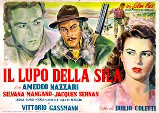 Cover, carátula, dvd: El lobo de la sila | 1949 | Il lupo della Sila