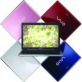 Daftar Harga Laptop Sony Vaio Bulan Juni 2012