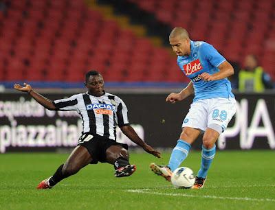Prediksi Skor Napoli vs Udinese 8 Oktober 2012