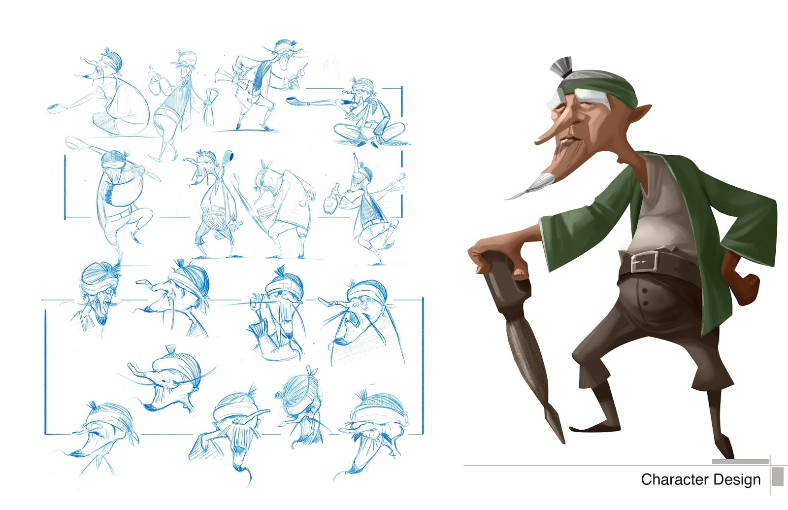 Character Design Research : Archer ding january