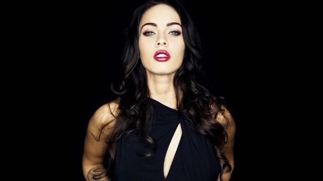 Megan FOx All in Black