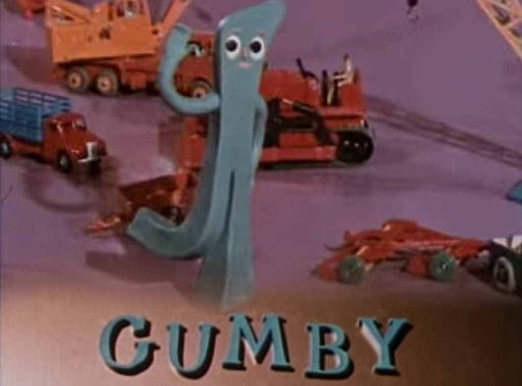 Gumby aired in ABC-5 Philippines 90's Retro Pilipinas Feature