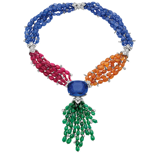 Bulgari new jewelry collection at Biennale 2012