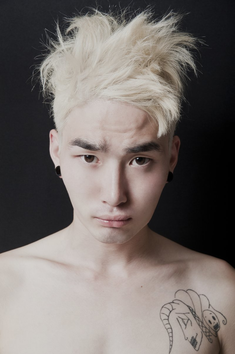 He is an international Korean model, but in his native Korea most ...