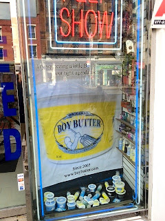 New window display of the classic Original Boy Butter 16 oz