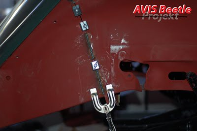 Zwei große Endspitzen / AVIS Beetle Projekt