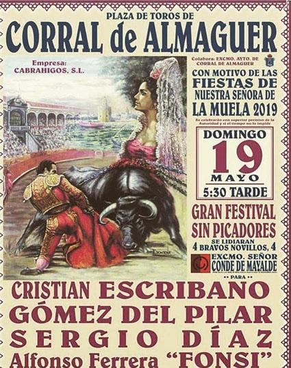 CORRAL DE ALMAGUER 19 MAYO 2019